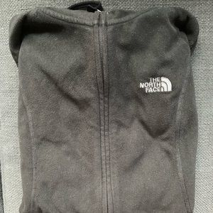 North Face zip up sweatshirt